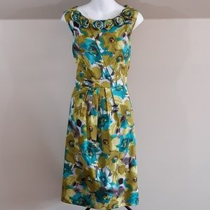 Jessica Howard Floral Retro Fit & Flare Dress NEW!